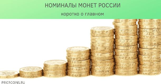 Номиналы монет
