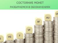 Состояние монет