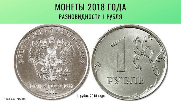 Монеты 2018 года
