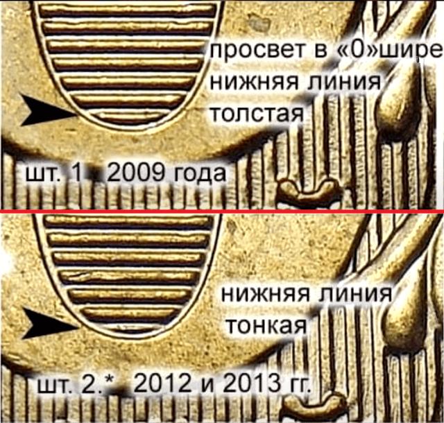2009 и 2012